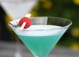 Bombay Blue Martini